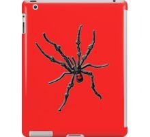 Big Creepy Black Widow Spider iPad Case/Skin