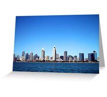 San Diego Skyline 2 Greeting Card
