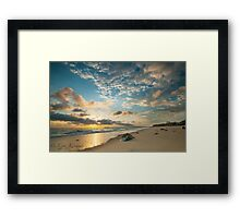 Sunrise Blacks Beach  Framed Print