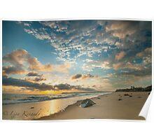 Sunrise Blacks Beach  Poster