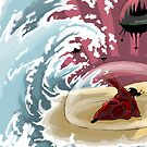 Wave and shield by Weird