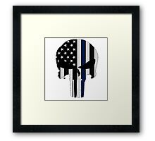Police Punisher Framed Print