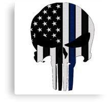 Police Punisher Canvas Print