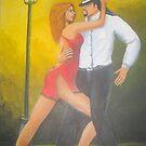 Tango Dancers  by Noelia Garcia