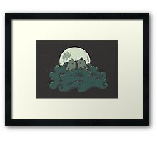 Moonlight Kiss Framed Print