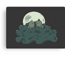Moonlight Kiss Canvas Print