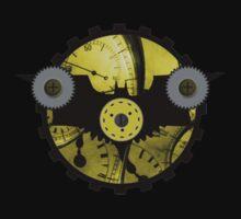 Steampunk Batman Logo by Rob Forconi