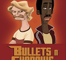 BULLETS N´SHADOWS POSTER by Joan Manuel Urbina