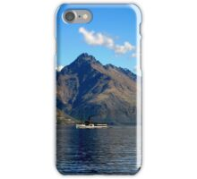 Steamship on New Zealand Lake iPhone Case/Skin