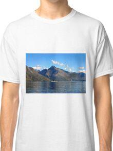 Steamship on New Zealand Lake Classic T-Shirt