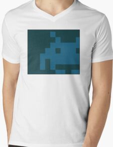 Old School Invasion Mens V-Neck T-Shirt