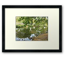 Early Fall Reflections Framed Print