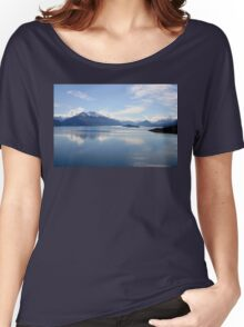 New Zealand landscape Lake Wakatipu Women's Relaxed Fit T-Shirt