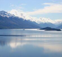 New Zealand landscape Lake Wakatipu Sticker