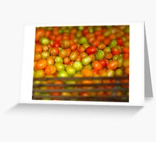 Tomate Greeting Card