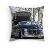 1947 Cadillac Convertible   Throw Pillow