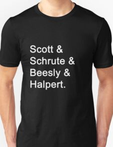 The Office Characters T-Shirt