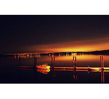 Anderson Island Marina  Photographic Print