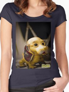 Krispy Dog Women's Fitted Scoop T-Shirt