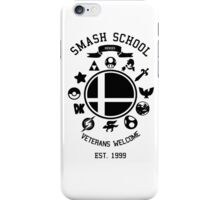 Smash School Veteran Class (Black) iPhone Case/Skin