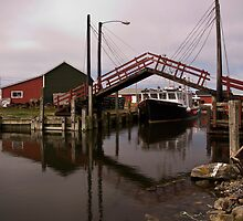 Sanford Drawbridge by Harv Churchill