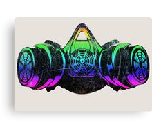 Fluorecent Aerosol Masker Canvas Print