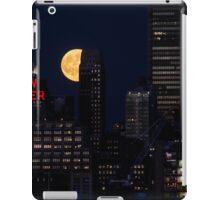 Blue Moon over The Apple iPad Case/Skin