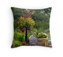 Have a seat...... Throw Pillow