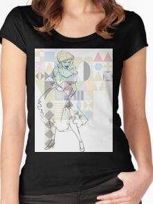 Mary Blair Women's Fitted Scoop T-Shirt