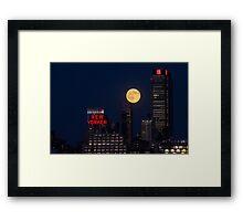 Gotham Glow Framed Print
