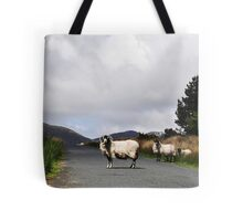 Road Block Tote Bag
