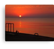 Greek Summer Sun Canvas Print