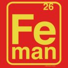 Iron Element Man by OscarEA