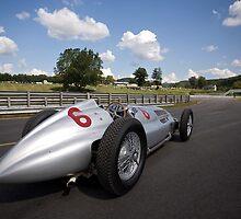 1939 Mercedes-Benz W 154 Silver Arrow by Brian Ach