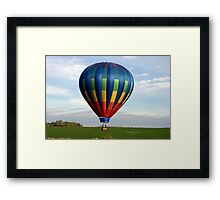 Flyin' Low Framed Print