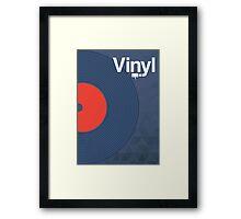 Modernist Vinyl Framed Print