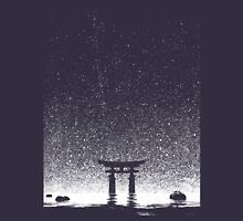 Japan Night at Torii Gate Unisex T-Shirt