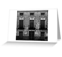 Old facade Greeting Card