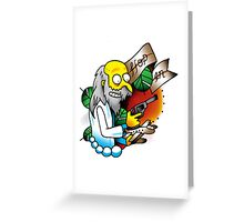 Hop In Greeting Card