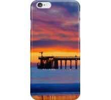 Bacara (Haskell's ) Beach and pier, Santa Barbara iPhone Case/Skin