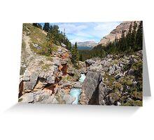 Bow canyon Greeting Card