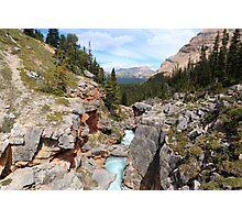 Bow canyon Photographic Print