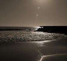 Jetty & The Sun by tom j deters