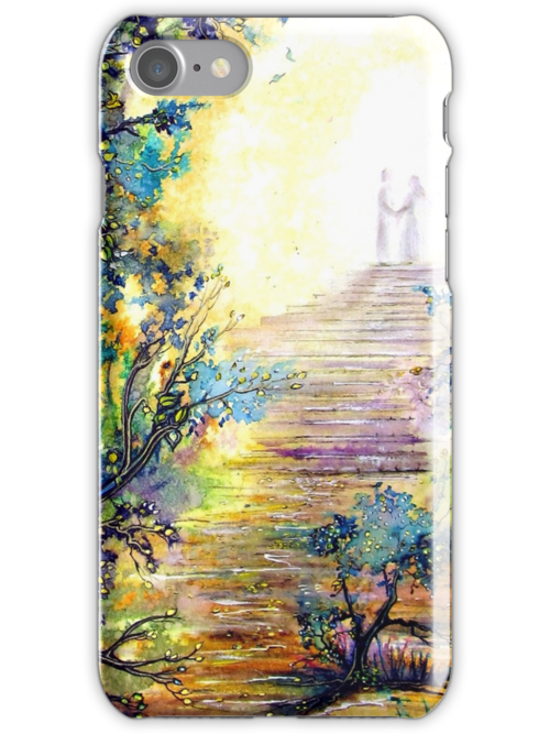 'I Promise' iPhone Case by Linda Callaghan