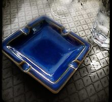 Blue Ashtray - Shenzhen, China by Robert Baker