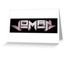 Joman Greeting Card