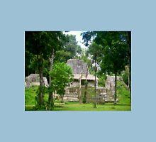 Lost Mayan Eastern Triadic Complex, Tikal, Guatemala Unisex T-Shirt
