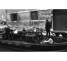 Hearse Barge Photographic Print