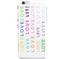 Love - JUSTART © iPhone Case/Skin