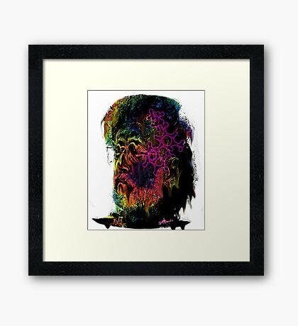 Terrance Mckenna LSD  Framed Print
